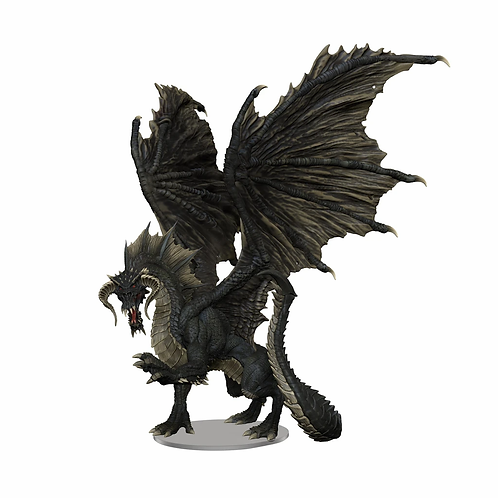 Adult Black Dragon - D&D Icons of the Realms
