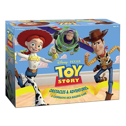 Toy Story: Obstacles & Adventures - A Cooperative Deck-Building Game (ENG)