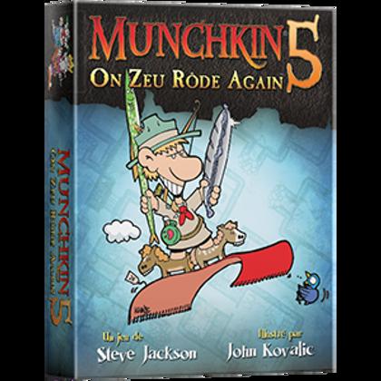 Munchkin 5 - On Zeu Rôde Again (FR)
