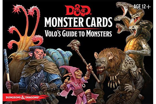 Monster Cards - Volo's Guide to Monsters (ENG)