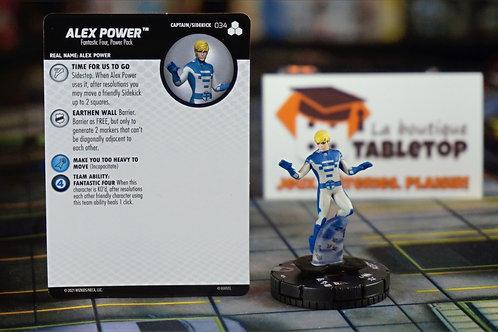 034 Alex Power - Fantastic Four Future Foundation