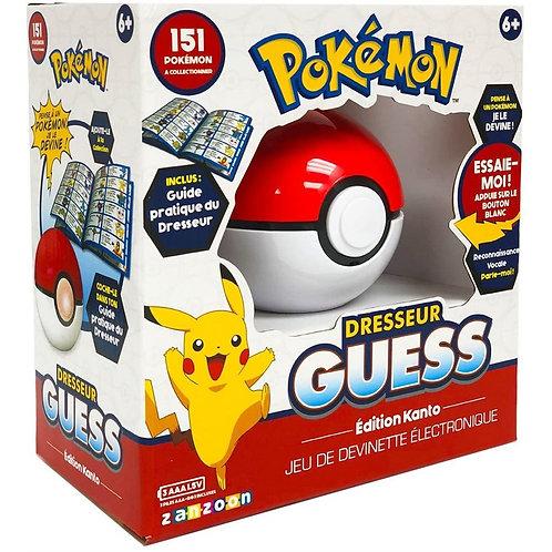 Pokémon Dresseur Guess (FR) - édition Kanto