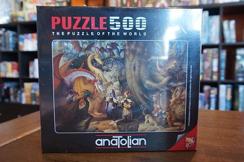 Puzzle Anatolian - 500 mcx Confabulation of Dragons