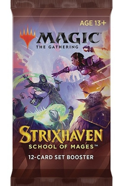 Strixhaven: School of Mages Set Booster - MTG