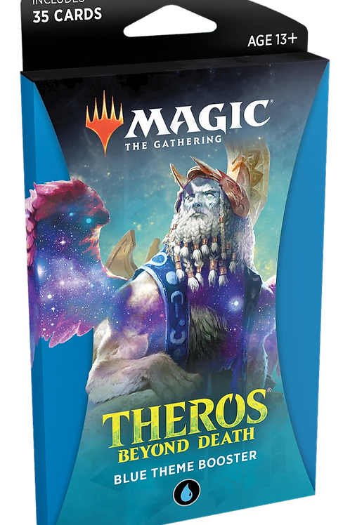 MTG Theros Beyond Death - Blue Theme Booster