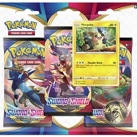 3-booster blister-pack - Sword & Shield - Pokemon TCG
