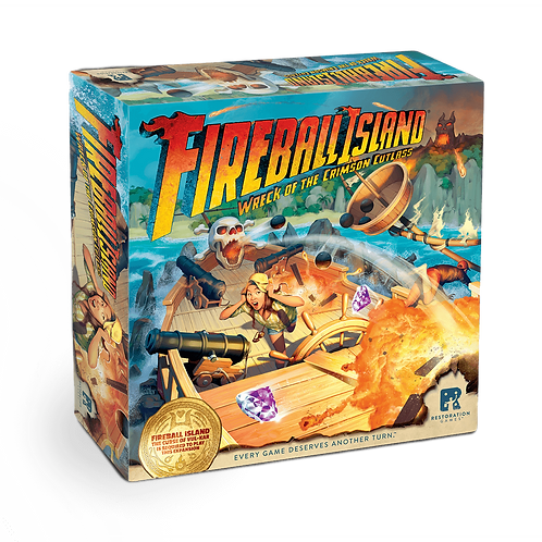 Fireball Island - Wreck of the Crimson Cutlass (expansion)