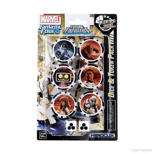 Marvel Heroclix F4 Future Foundation - Dice & Token Pack