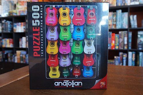 Puzzle Anatolian - 500 mcx Colored (sic) of Music