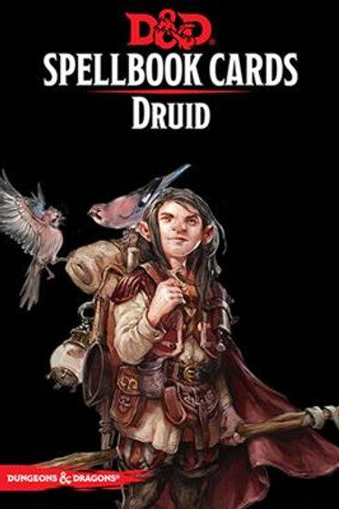 Spellbook Cards - Druid (ENG)
