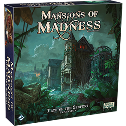 Mansions of Madness - 2nd edition - Path of the Serpent expansion