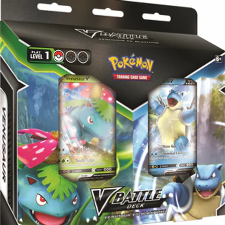 VBattle Deck - Venusaur Vs. Blastoise - Pokemon TCG
