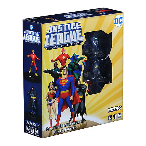 DC Heroclix Justice League Unlimited Starter