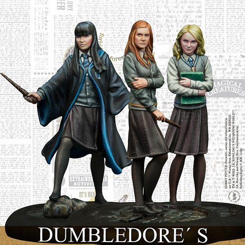 Dumbledore's Army Pack (ENG) - Harry Potter Miniatures Adventure Gam