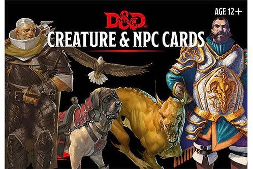 Creature & NPC Cards - (ENG)