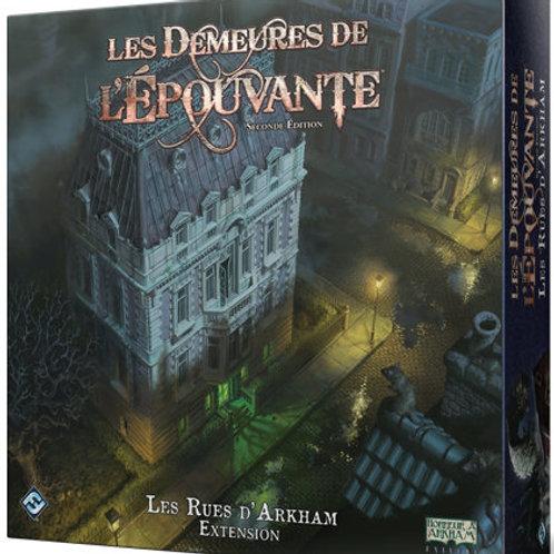 Les Rues d'Arkham - extension pr Demeures de l'épouvante (2e ed, FR)