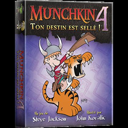 Munchkin 4 - Ton destin est sellé (FR)