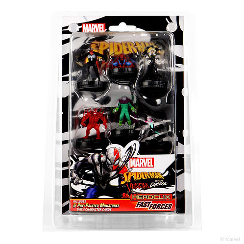 Fast Forces Marvel Spider-Man and Venom: Absolute Carnage