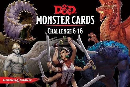 Monster Cards Challenge 6-16 (ENG)