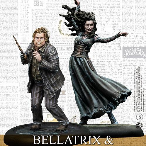 Bellatrix & Wormtail (ENG) - Harry Potter Miniatures Adventure Gam