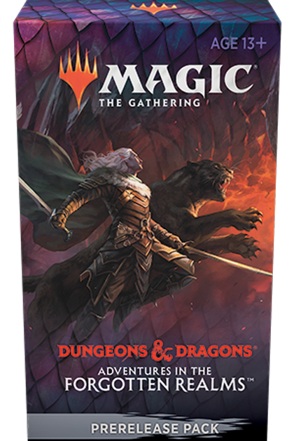 Adventures in the Forgotten RealmsPre-Release Pack - MTG