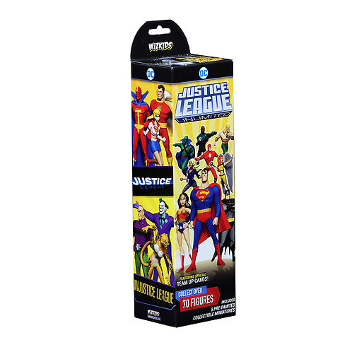 DC Heroclix Justice League Unlimited Booster - pré-commande