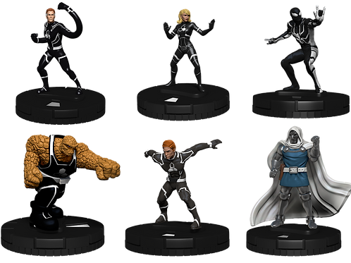 Marvel Heroclix F4 Future Foundation - Fast Forces