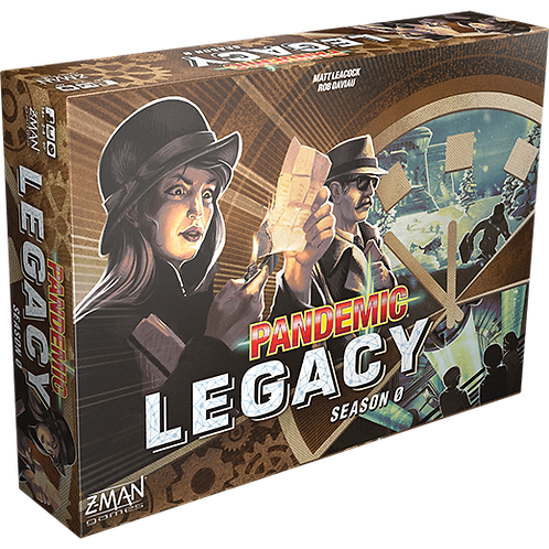 Pandemic Legacy - Season 0 (ENG)