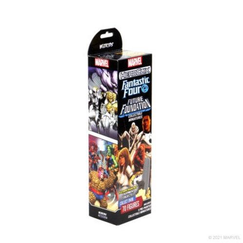 Marvel Heroclix F4 Future Foundation - booster de 5 figurines