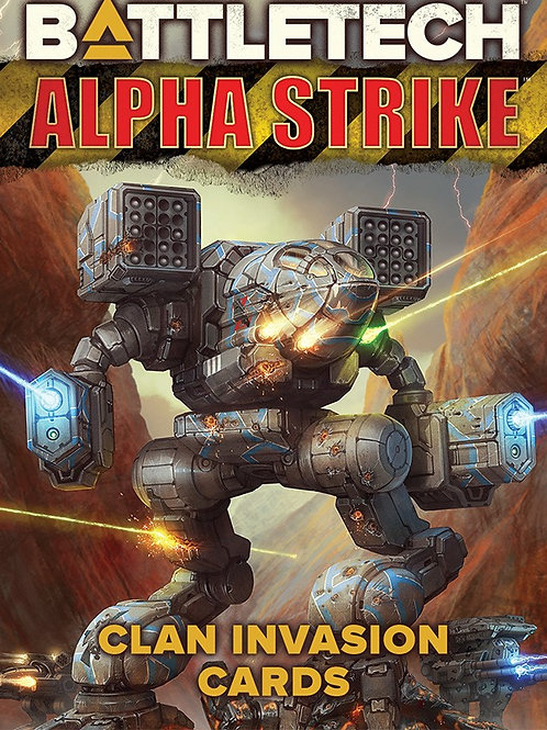Alpha Strike - Clan Invasion Cards - Battletech