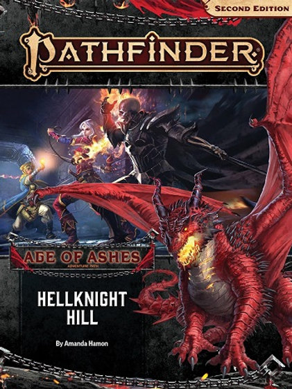 Pathfinder 2e - Age of Ashes: Hellknight Hill adventure