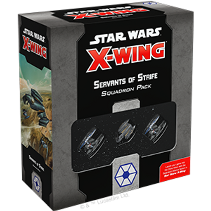 Star Wars X-Wing - Servants of Strife