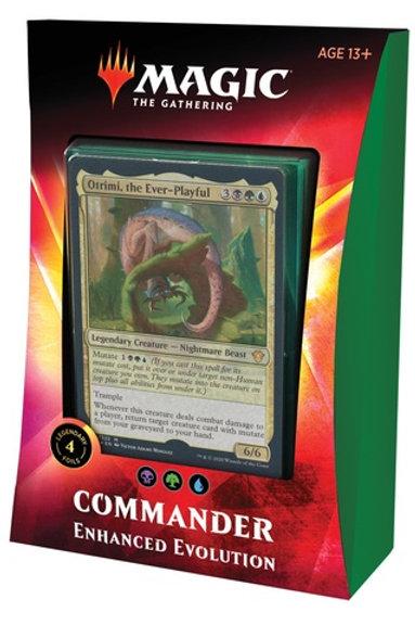MTG Commander Ikoria: Enhanced Evolution (Black-Green-Blue)