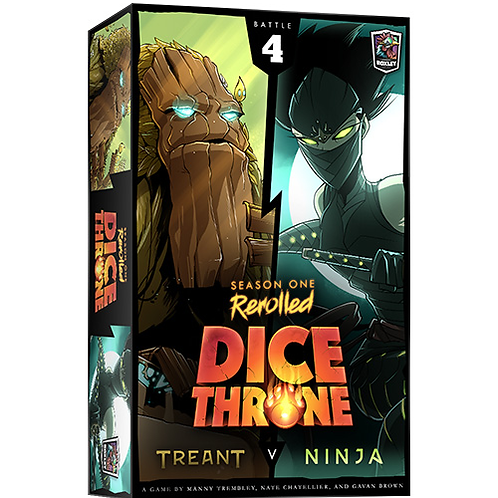 Dice Throne: Treant v Ninja - Seasons One Rerolled