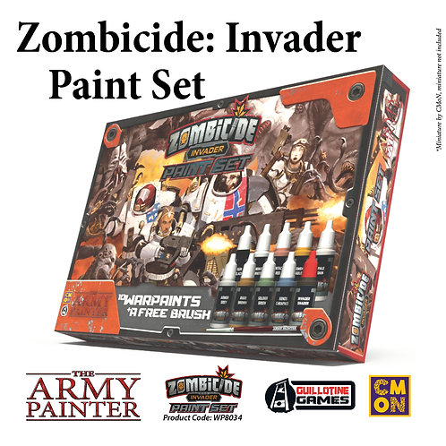 Zombicide Invader Paint Set, The Army Painter