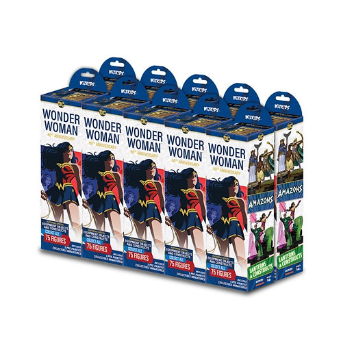 Brique de Heroclix DC Wonder Woman 80th Anniversary (10 boosters)