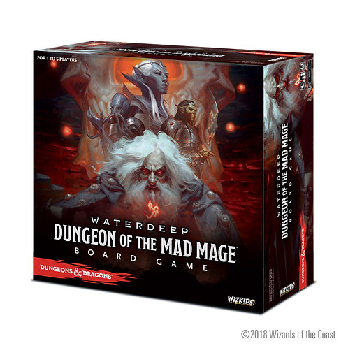 Dungeon of the Mad Mage  - DND Board Game - Standard Edition
