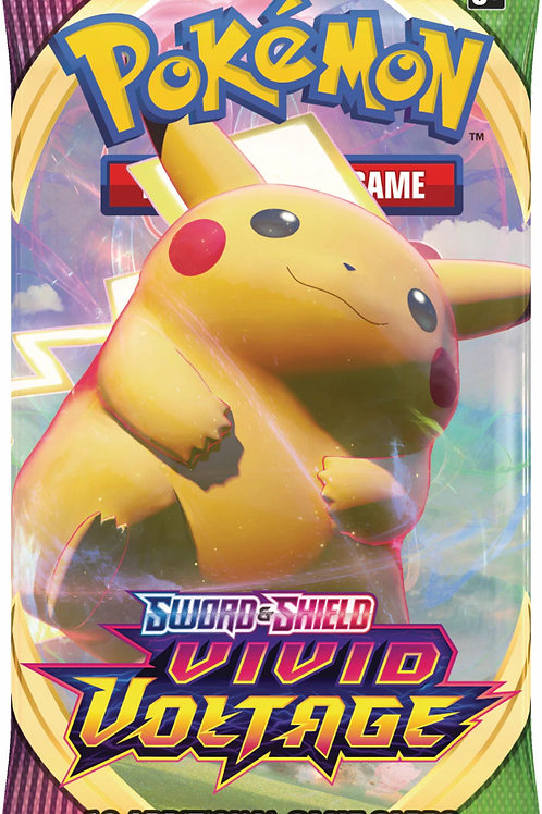 Vivid Voltage - Sword & Shield Booster Pack (10 cartes) - Pokemon TCG
