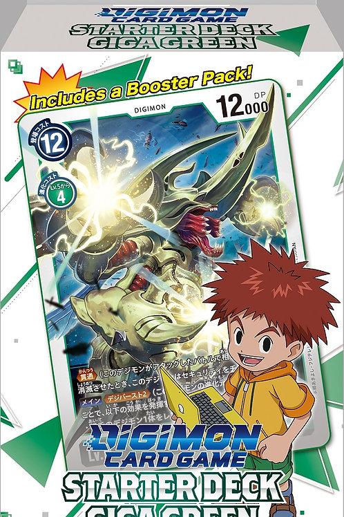 Giga Green Starter Deck - Digimon Card Game
