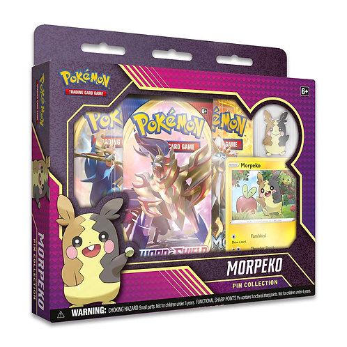 Morpeko Pin Collection  - Pokemon TCG
