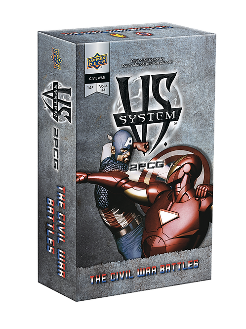 VS System 2PCG - The Civil War Battles (Marvel)