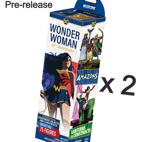 Heroclix DC Wonder Woman 80th Anniversary - Lot de Pré-Lancement