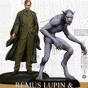 Remus Lupin & Werewolf Form (ENG) - Harry Potter Miniatures Adventure Game