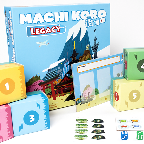 Machi Koro Legacy (ENG)