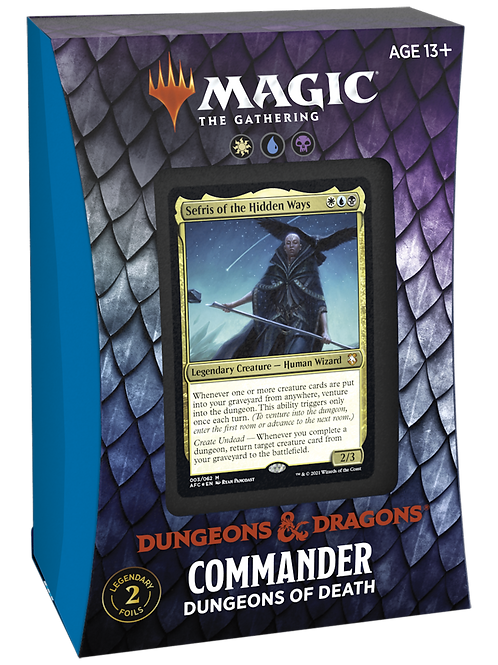 DnD Commander Dungeons of Death - MTG