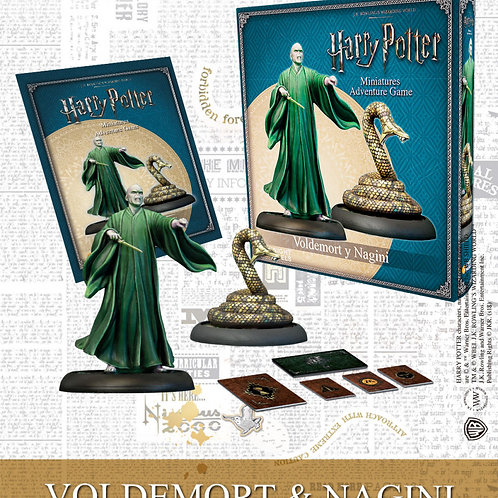 Voldemort & Nagini (ENG) - Harry Potter Miniatures Adventure Game