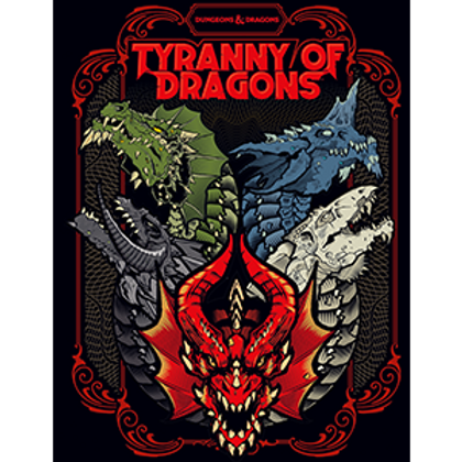 Tyranny of Dragons Hobby Shop Alt Cover (ENG)