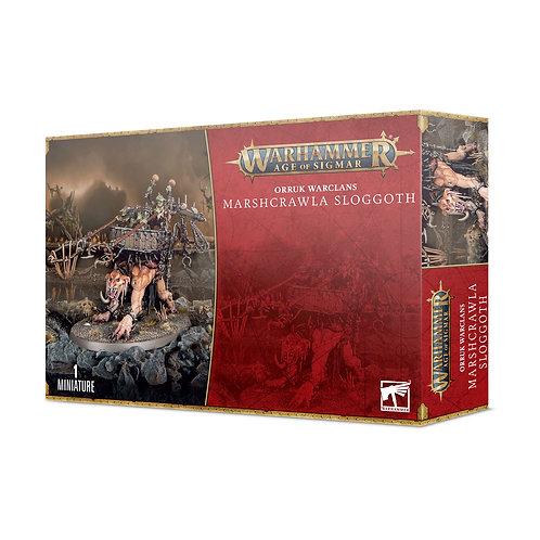 Marshcrawla Sloggoth - Orruk Warclans