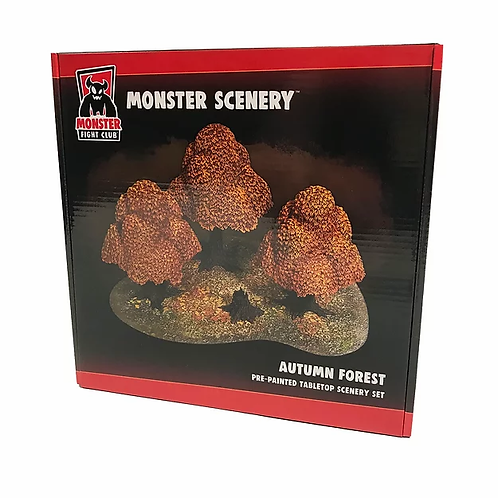 Autumn Forest - Monster Scenery