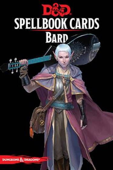 Spellbook Cards - Bard (ENG)